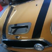 Bonnet Scoop, Chrome 2nd gen MINI